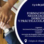 Curso Formación en Negociación. Derecho y práctica colaborativa. Málaga, 5 y 6 de Julio
